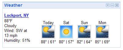 Lockport Weather