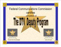 I'm a DTV Deputy!
