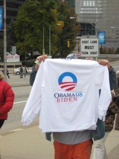T-shirt vendor