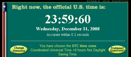 2008 Leap Second