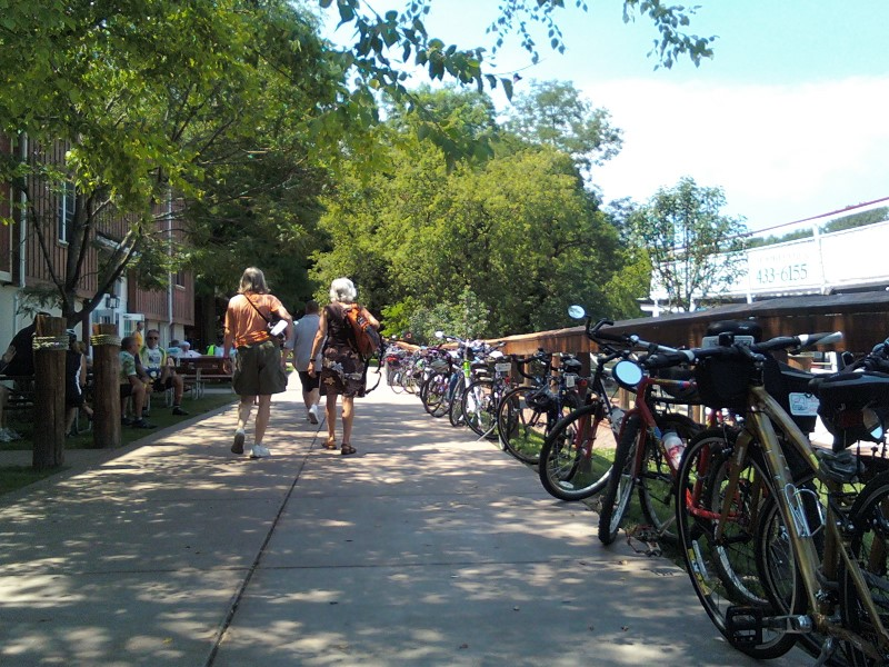 Bikes at Canal Tours
