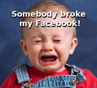 Somebody broke my FB