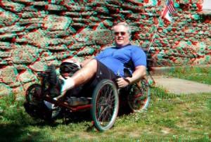 Al at Arkon Falls Park 2012