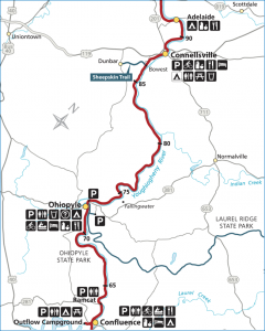 Ohiopyle to Connelsville